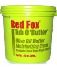 RED FOX TUB O'BUTTER OLIVE OIL moisturising CREME 328g