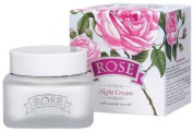 Night Cream Rose 50 ml with natural oil Bulgarian Rose Water