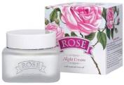 Night Cream Rose 50 ml with natural oil Bulgarian Rose Water