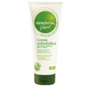 GEROVITAL PLANT, Anti-Cellulite Cream With Natural Extracts of Edelweiss, Ivy and Chestnut Seeds (Parabens Free, Preservatives Free) 20+