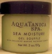 Bath & Body Works Aquatanica Sea Moisture Gel Souffle with Exclusive Marine Nutrient Complex 60ml Travel Size