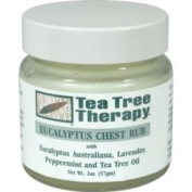 Tea Tree Therapy - Chest Rub, Eucalyptus 60ml