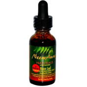 Neemaura Naturals 0496471 Certified Organic Triple Strength Neem Leaf Extract 1 to 5 - 1 fl oz