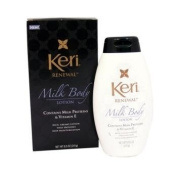 Keri Renewal Milk Body Lotion, Contains Milk Proteins and Vitamin E 250ml