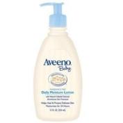 Aveeno Baby Daily Moisture Lotion, Fragrance Free, 350ml