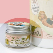 Dolce Mia Golden Girl Tuberose Shea Butter Travel Size Natural Lotion With Organic Botanicals 5ml Jar