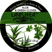 Lavishea Lotion Bar 35mls-Aloe and Green Clover