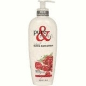 Pure & Basic 0103523 Natural Bath And Body Lotion Cherry Almond - 12 fl oz