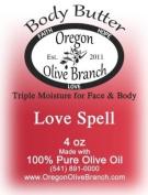 Love Spell (Type) Triple Moisture Body Butter Squeeze Bottle 4 Oz. (118 Ml) w/ Hinged Flip Top Snap-top Cap
