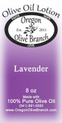Lavender Olive Oil Lotion 8 Oz. (240 Ml) Disc Top