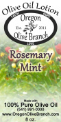 Rosemary Mint Olive Oil Lotion 8 Oz. (240 Ml) Disc Top