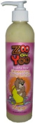 Zoo On Yoo Bashful Bear Kid's Body Shimmer Lotion - Mango 300ml Glitter Sparkle