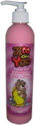 Zoo On Yoo Bashful Bear Kid's Body Shimmer Lotion - Raspberry 300ml Glitter Sparkle