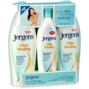 Jergens Ultra Healing Lotion Triple Pack 2 / 620ml Bottles And 1 / 300ml
