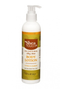 Shea Touch - All Natural Silky Shea Body Lotion (8 Fl Oz) - Citrus Charm