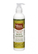Shea Touch - All Natural Silky Shea Body Lotion (8 Fl Oz) - Unscented