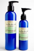 Body Lotion Vanilla Almond Cinammon By the Grapeseed Co