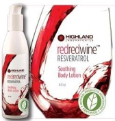RedRedWine Resveratrol Soothing Body Lotion - 180ml - Cream