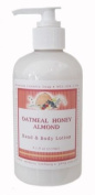 Oatmeal Honey Almond Aromatherapy Hand & Body Lotion - 270ml