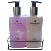 Pecksniffs Rose & Peony Hand Wash and Body Lotion Set 300ml Each