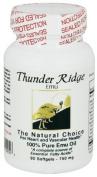 100% Pure EMU Oil Gel by Thunder Ridge Emu Products - 90 Softgels