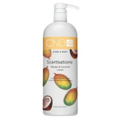 CND Creative Scentsations Hand & Body Lotion Mango & Coconut - 920ml