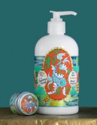 Dolce Mia Fish Mango Tangerine Shea Butter Natural Lotion With Organic Botanicals 350ml Pump