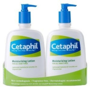 Cetaphil Moisturising Lotion Twin Pack 590ml Each