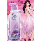 Mistine White Spa White Musk Uv Whitening Lotion with Edelweiss Extract 400 Ml