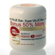 BONUS SIZE Vitamin E Cream 42,000 I.U. - 50% MORE FREE 180ml