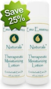 Emu Essence Therapeutic Moisturising Lotion with Emu Oil Twin Pack 2 / 240ml bottles
