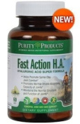 Fast Action H.A. Super Formula by Purity Products - 60 Tablets