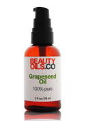 BEAUTYOILS.CO Grapeseed Oil - 100% Pure