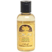 OKAY 100% Pure Haitian Castor Oil, 120ml