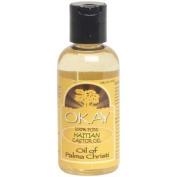 OKAY 100% Pure Haitian Castor Oil, 120ml