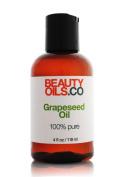 BEAUTYOILS.CO Grapeseed Oil - 100% Pure