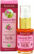 Badger Organic Damascus Rose Antioxidant Face Oil 30ml oil