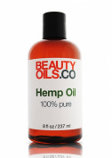 BEAUTYOILS.CO Hemp Seed Oil - 100% Pure