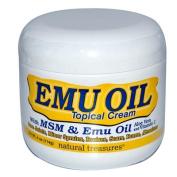 B.N.G. Natural Treasures 0424838 Natural Treasures Emu Oil Topical Cream - 4 oz
