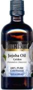 Jojoba Oil, Golden - 100% Pure, Cold Pressed - 100ml - ZIN