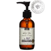 Organic Body Oil - Naturally Relaxing, Moisturising - Lavender Citrus 4fl.oz/120ml