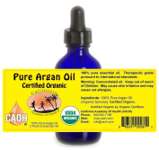 Argan Oil - 100% Pure Certified Organic Argan Oil from CAOH® (1 - 2 oz