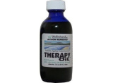 Well in hand Therapy Oil Cobalt Glass Bottle