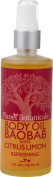 Planet Botanicals African Fruit Body Oil, Baobab with Citrus Limon, 4 Fluid Ounce