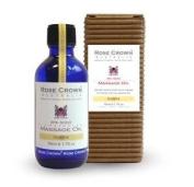 Organic All Natural Aromatherapy Jasmine Scented Massage Oil 50ml /1.7 fl oz