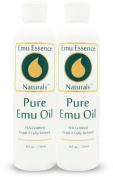 Emu Essence Pure Emu Oil 240ml Twin Pack AEA Certified