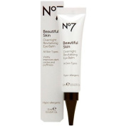 Boots No7 Beautiful Skin Overnight Revitalising Eye Balm 15ml