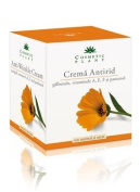 COSMETIC PLANT, Anti-Wrinkle Cream With Marigold Extract, Vitamins A, E, F and Panthenol (For Dry Skin) 50ml