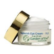 Garden of Eve Replenish Eye Cream-PLUS (dark circles) (Sensitive, Anti-ageing, Moisturising, Certified Organic Ingredients).5 oz