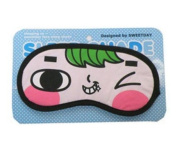 Silly Face Sleeping Funny Novelty Eye Cover